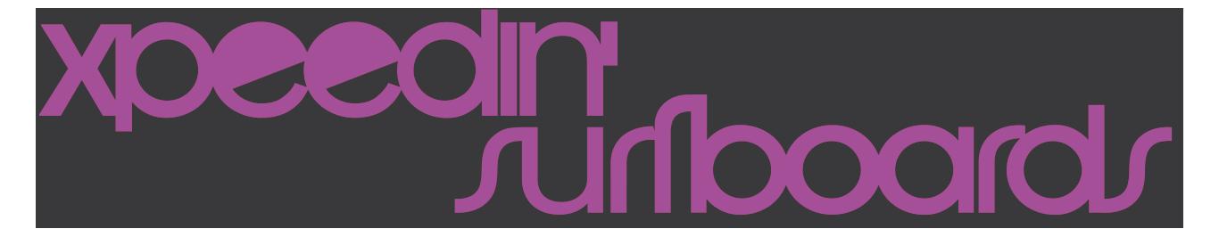 Xpeedin Surfboards Purple